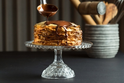 ТОП-6 Шоколадные блинные торты с разными кремами 19