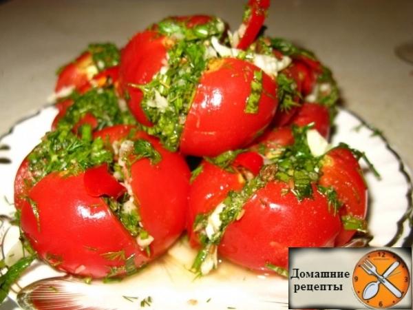 малосольные помидоры. дом. рецепты