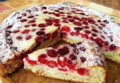 Пироги с малиной 3