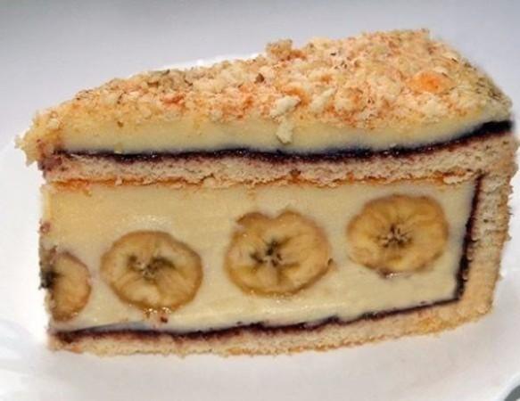 Торт с бананами 1