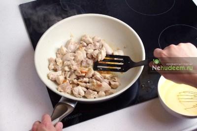 Курица с карри и рисом 5