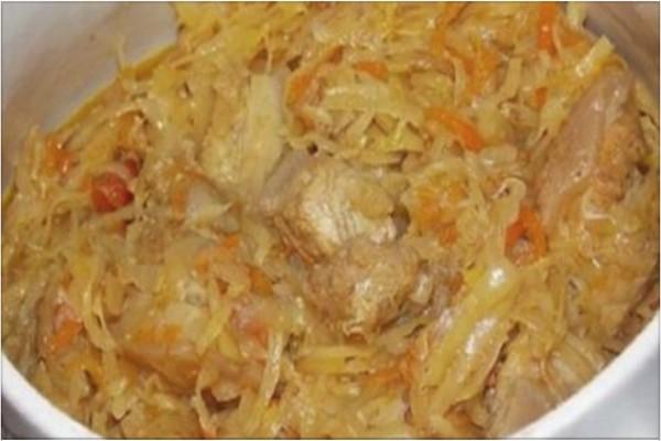 Польский бигос из свежей капусты. Очень вкусно и сытно!