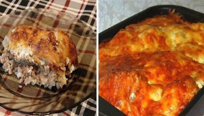 Курица, запеченная с гречкой - блюдо для всей семьи